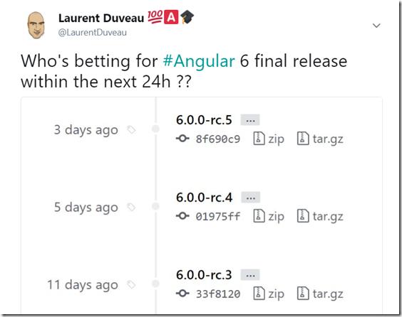 Angular 6 ?