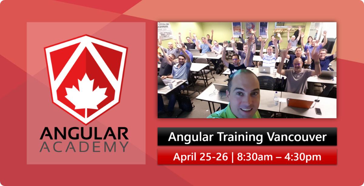 Angular Training Vancouver